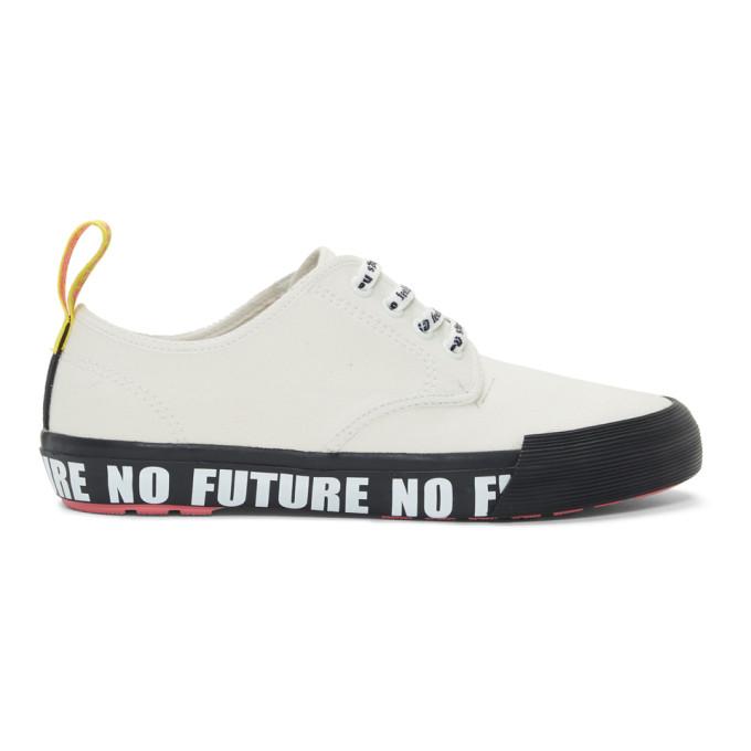 Dr. Martens White Sex Pistols Edition Pressler Sneakers
