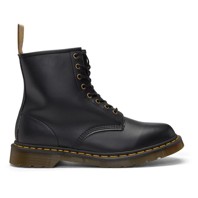 Dr. Martens Black Vegan 1460 Boots