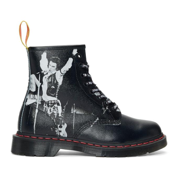 Dr. Martens Black Sex Pistols Edition 1460 Boots