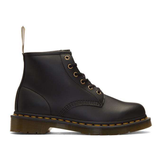 Image of Dr. Martens Black 101 Vegan Boots