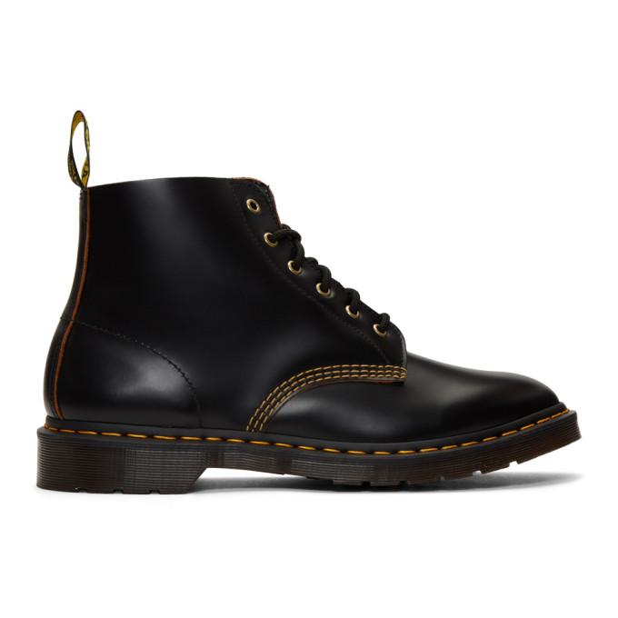 Dr. Martens Black 101 Vintage Smooth Boots