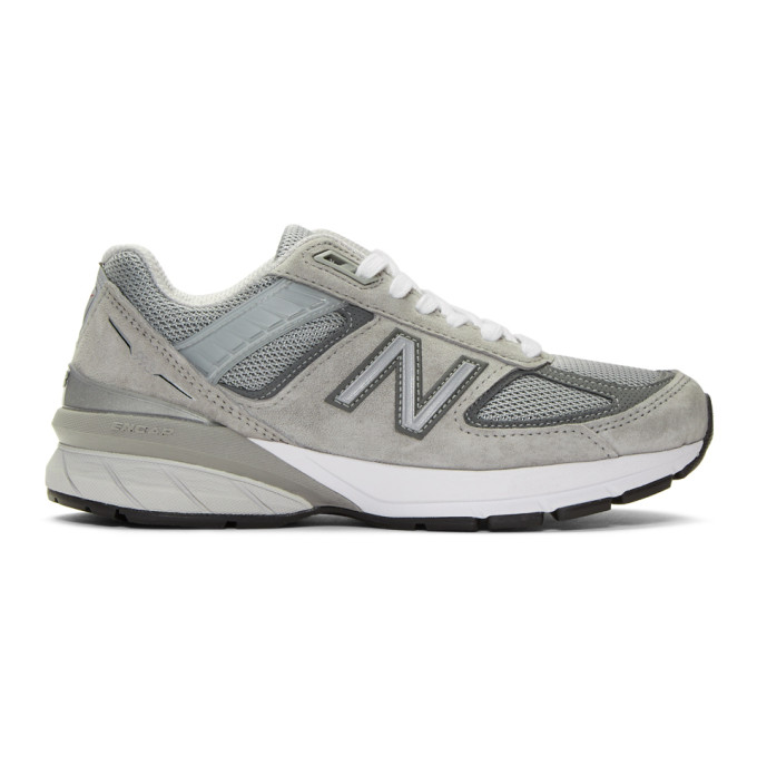 NEW BALANCE | New Balance Grey US Made 990 V5 Sneakers | Goxip