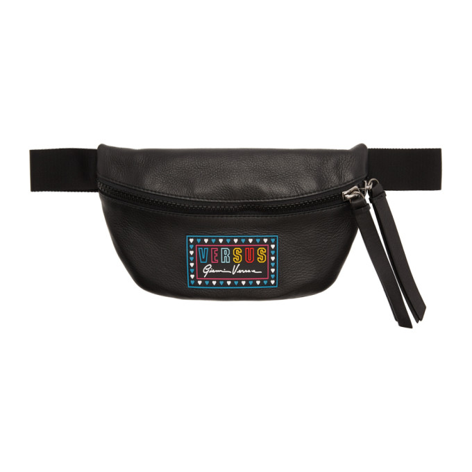 Versus Black Hearts Belt Bag