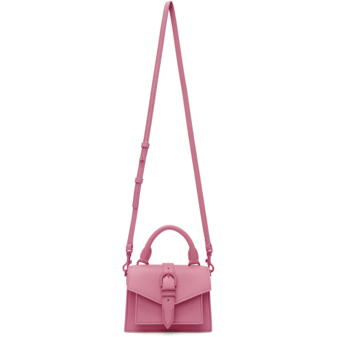 Versus Pink Mini Buckle Bag