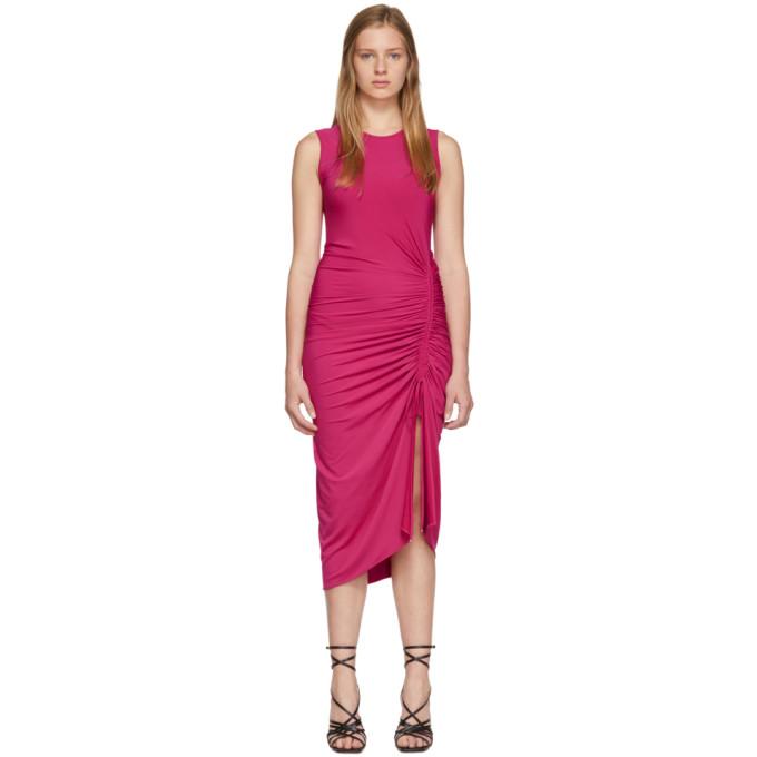 Altuzarra Dresses ALTUZARRA PINK SLEEVELESS MID DRESS