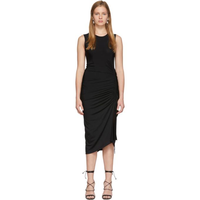 Image of Altuzarra Black Sleeveless Mid Dress