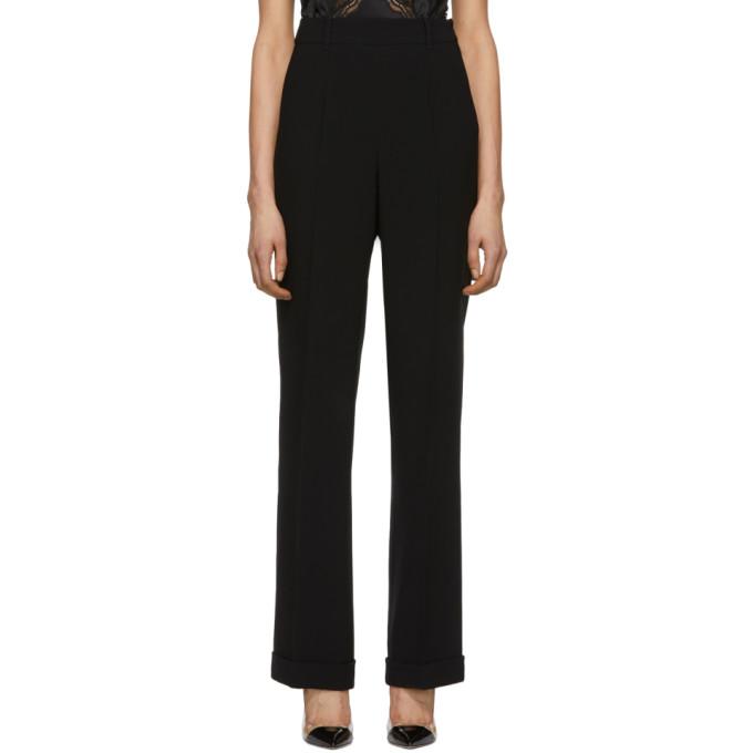 Image of Altuzarra Black Gavi Trousers