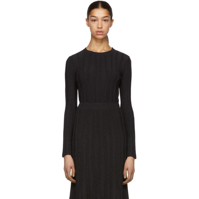 Image of Altuzarra Black & Brown Fedelli Sweater