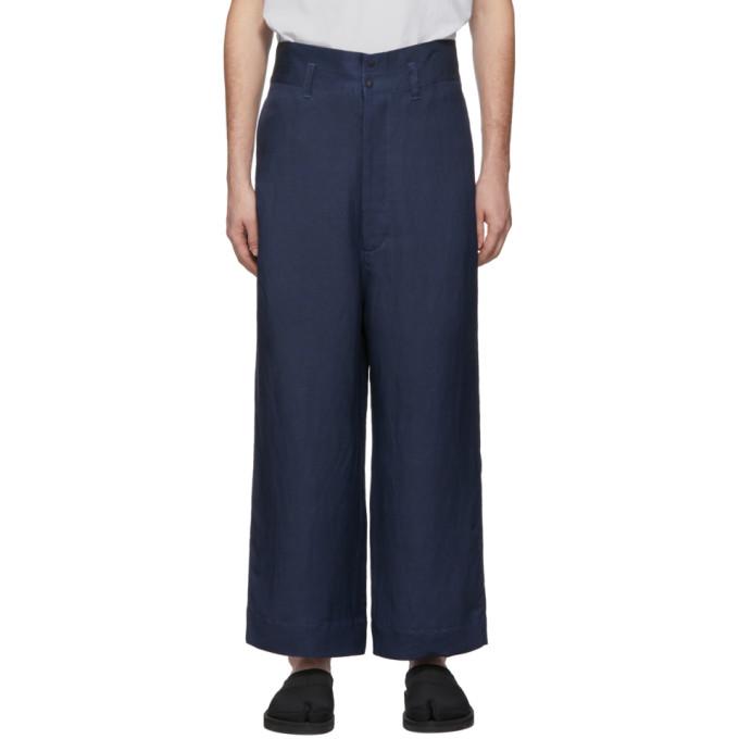 SASQUATCHFABRIX. | Sasquatchfabrix. Navy Nanou Docan Trousers | Goxip