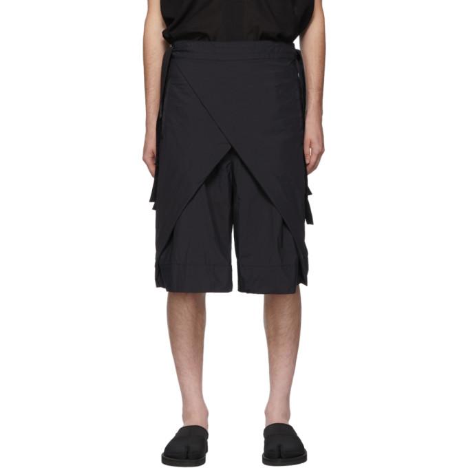 SASQUATCHFABRIX. | Sasquatchfabrix. Navy Nanou Wrap Shorts | Goxip