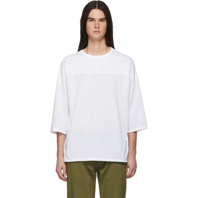 SASQUATCHFABRIX. | Sasquatchfabrix. White Mesh Football T-Shirt | Goxip