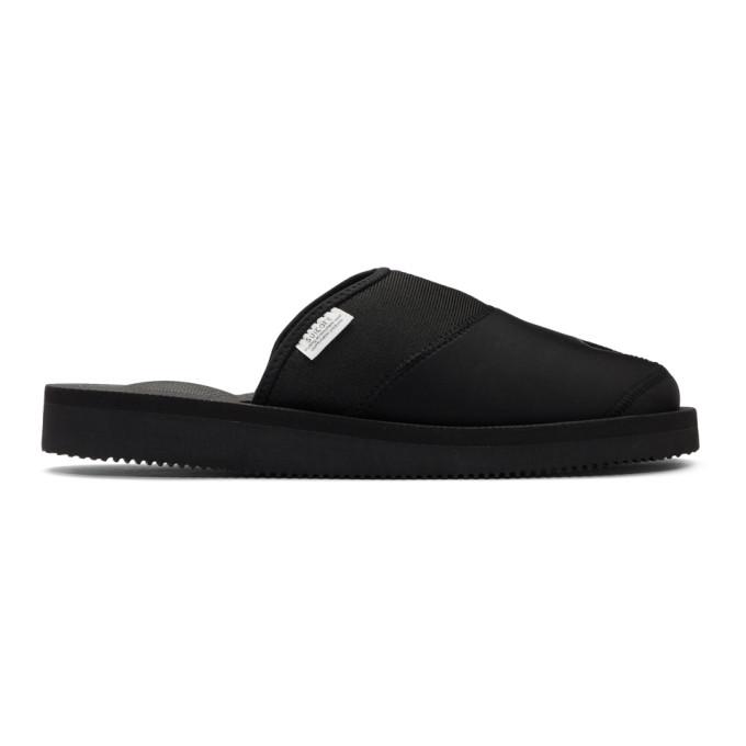 SASQUATCHFABRIX. | Sasquatchfabrix. Black Suicoke Edition Nanpou Sandals | Goxip