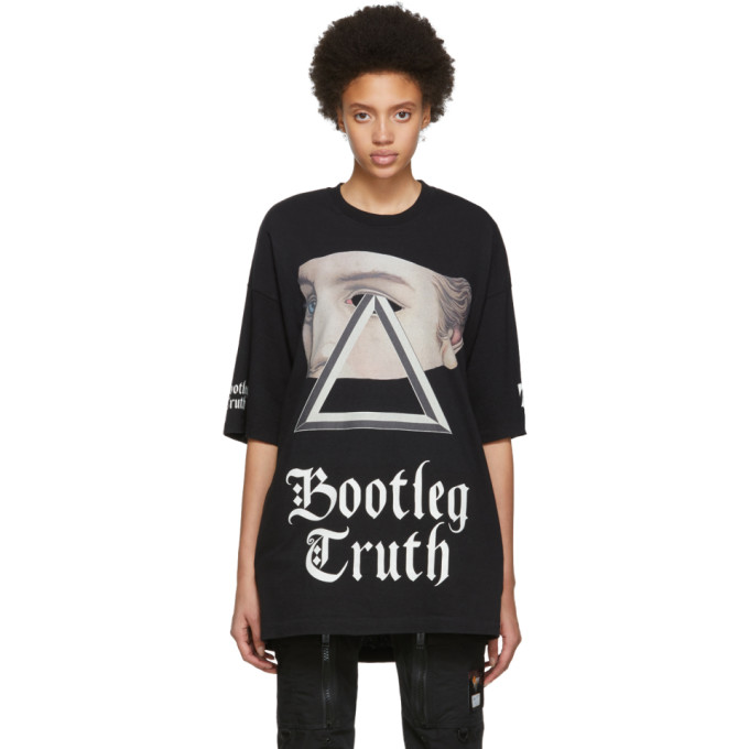 UNDERCOVER | Undercover Black Bootleg Truth Graphic T-Shirt | Goxip