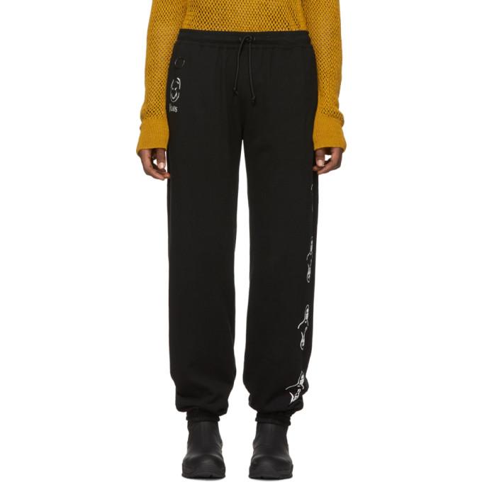 Undercover Pants UNDERCOVER BLACK VLADS LOUNGE PANTS
