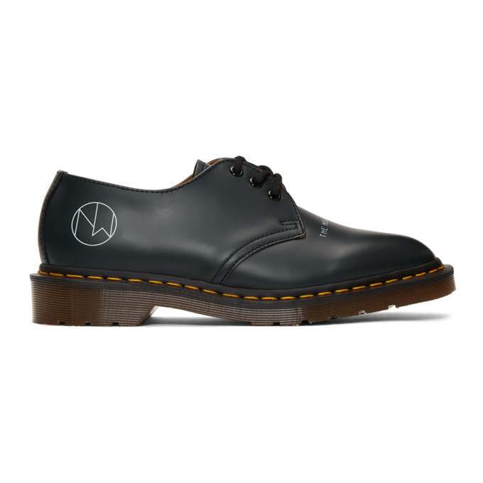 Undercover Shoes UNDERCOVER NAVY DR. MARTENS EDITION 1461 DERBYS