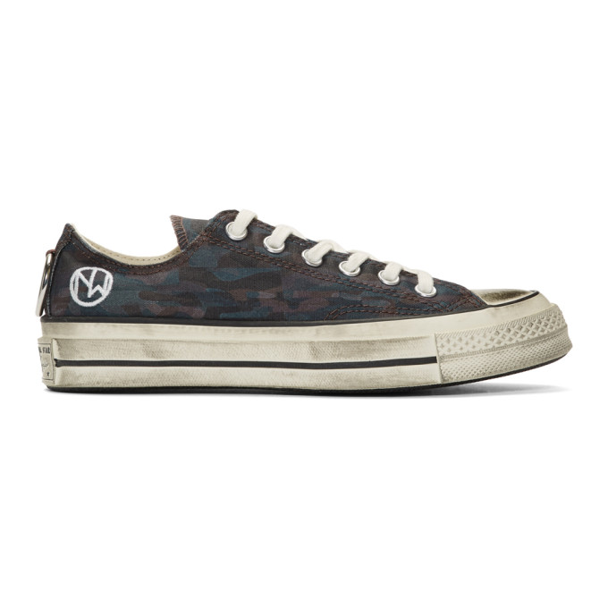 Undercover Baskets noires Chuck 70 Low edition Converse