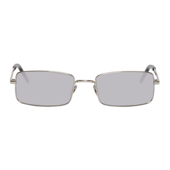 Saint Laurent Silver SL 252 Sunglasses