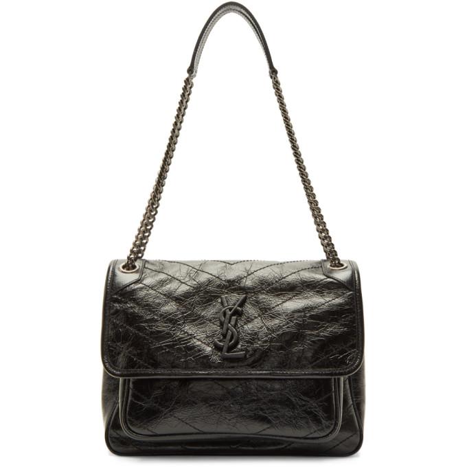 Saint Laurent Black Medium Niki Chain Bag