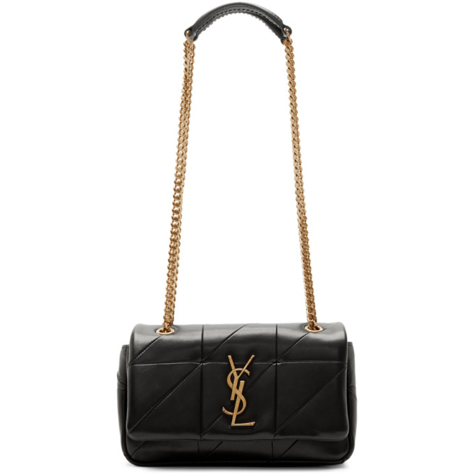 Saint Laurent Black Small Quilted Jamie Bag