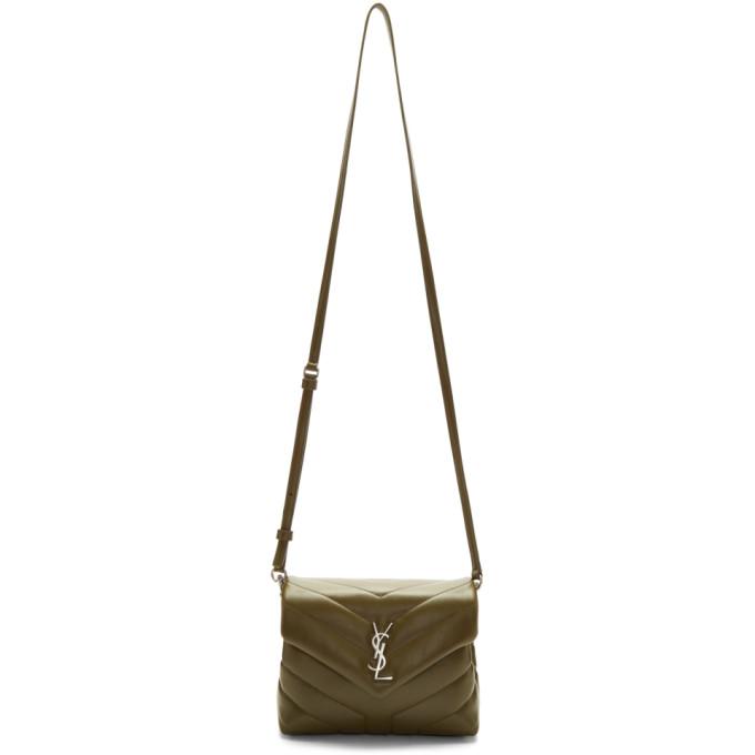 Saint Laurent Green Toy Loulou Bag