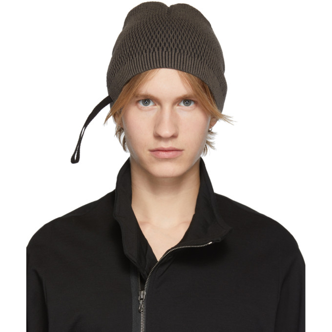 JULIUS | Julius Khaki Tight Twist Beanie | Goxip