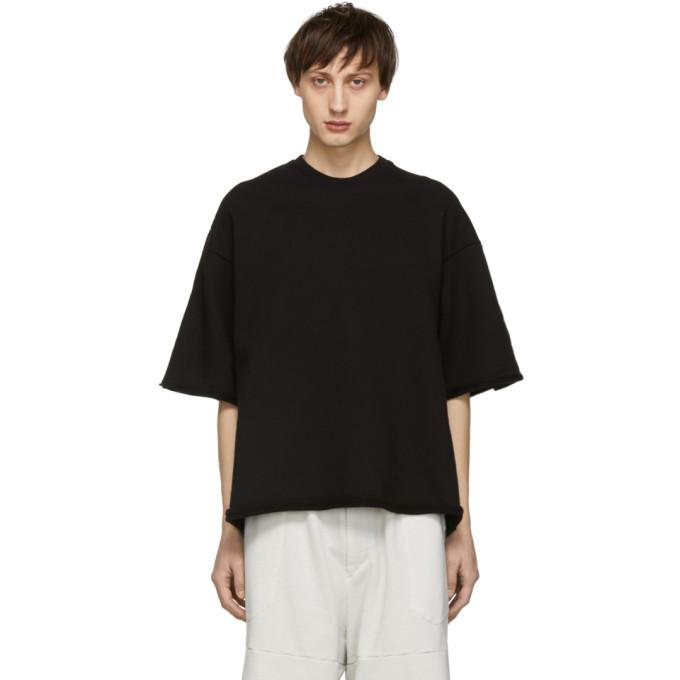 Julius T-shirt a effet use noir Wide