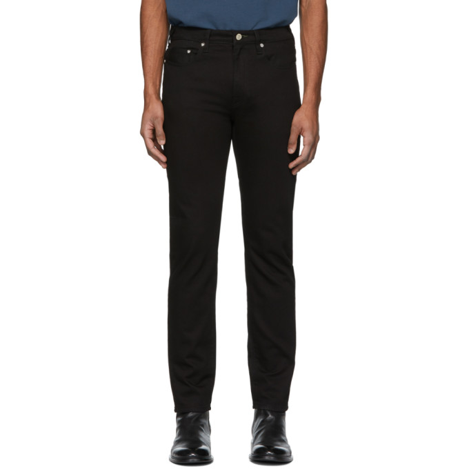 Ps By Paul Smith Black Stretch Slim Fit Jeans