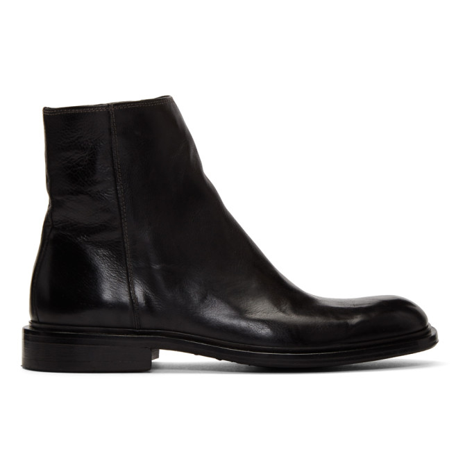 Image of PS by Paul Smith Black Billy Zip Boots