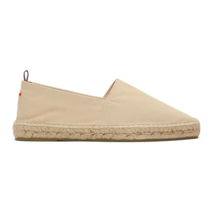 Image of Castañer Off-White Canvas Pablo Espadrilles