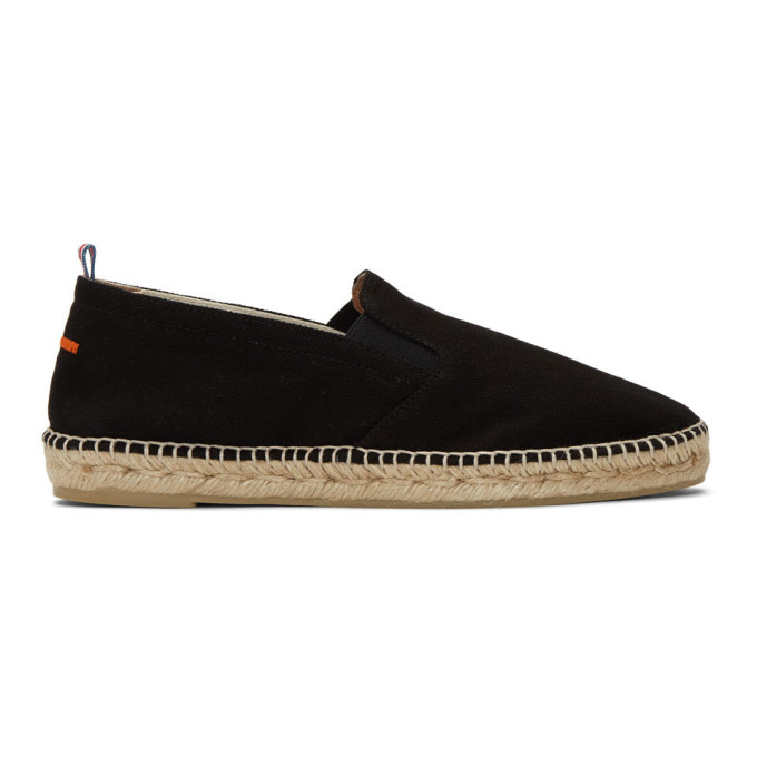 Image of Castañer Black Canvas Joel Espadrilles