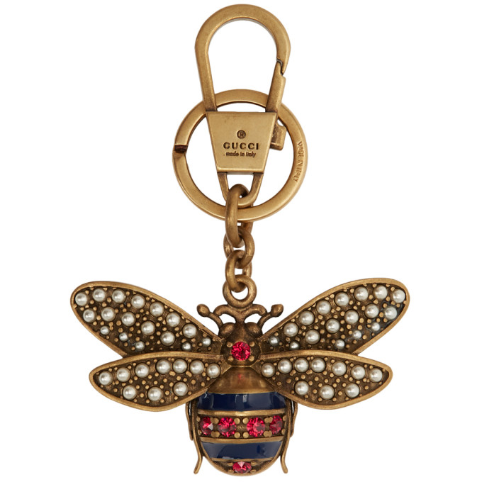 Gucci Gold Bee Keychain