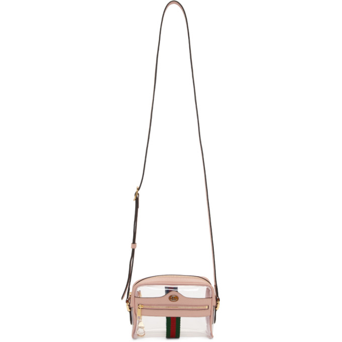 GUCCI | Gucci Transparent And Pink Ghost Ophidia Bag | Goxip