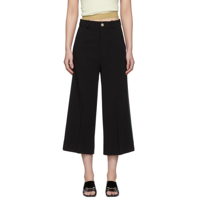 Gucci Pantalon noir Culotte