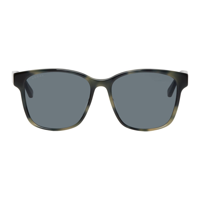 Gucci Grey Soft Square Sunglasses