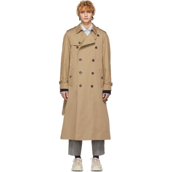 Gucci ベージュ シャトー マーモント トレンチ コート