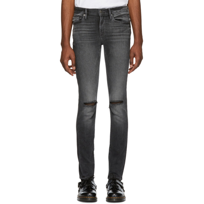 L'Homme Skinny Fit Jeans In Hubbell