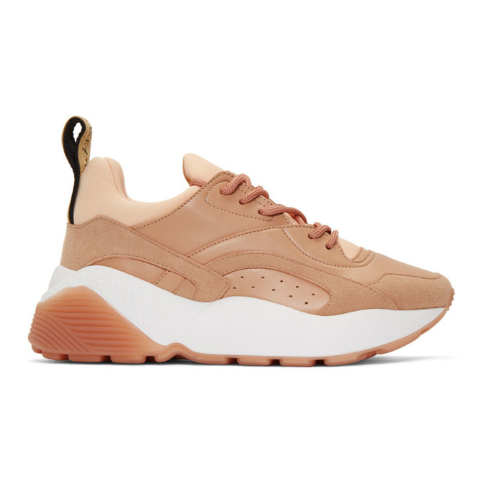 Stella McCartney Beige Eclypse Sneakers
