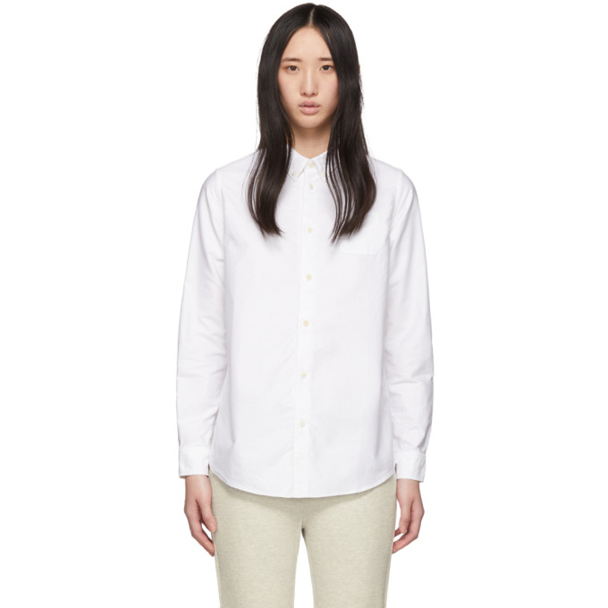 Visvim Chemise blanche Albacore