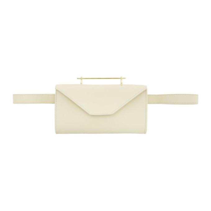 M2MALLETIER | M2Malletier Off-White M026 Belt Bag | Goxip