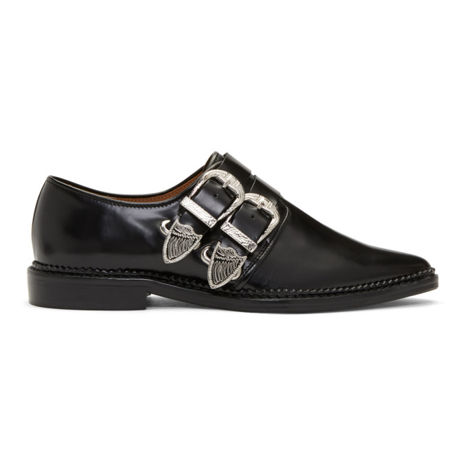 Toga TOGA PULLA BLACK TWO BUCKLE WESTERN OXFORDS
