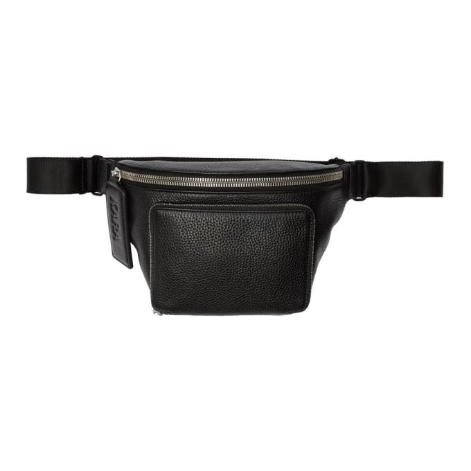 KARA Kara Black Large Bum Bag