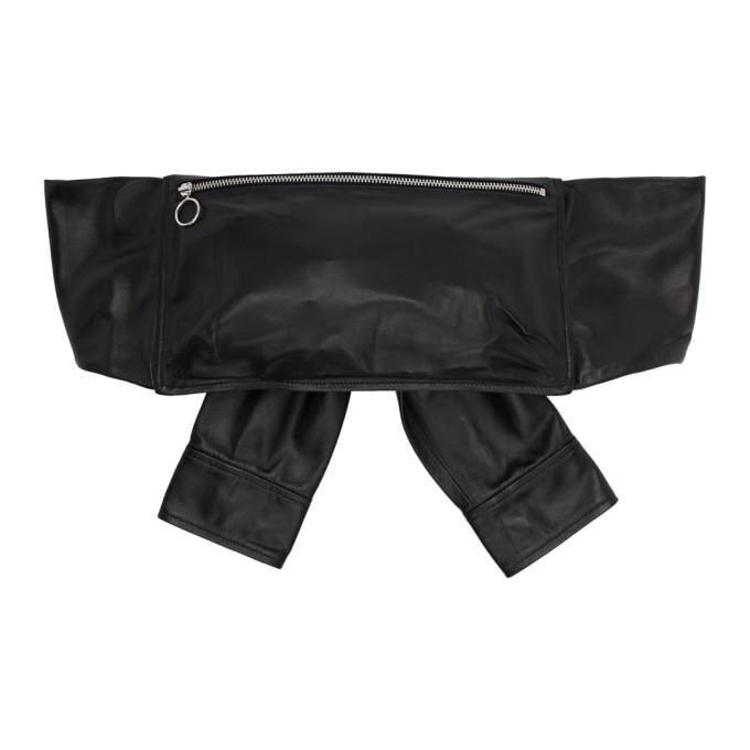 Kara Bags KARA BLACK SHIRT WAIST BAG