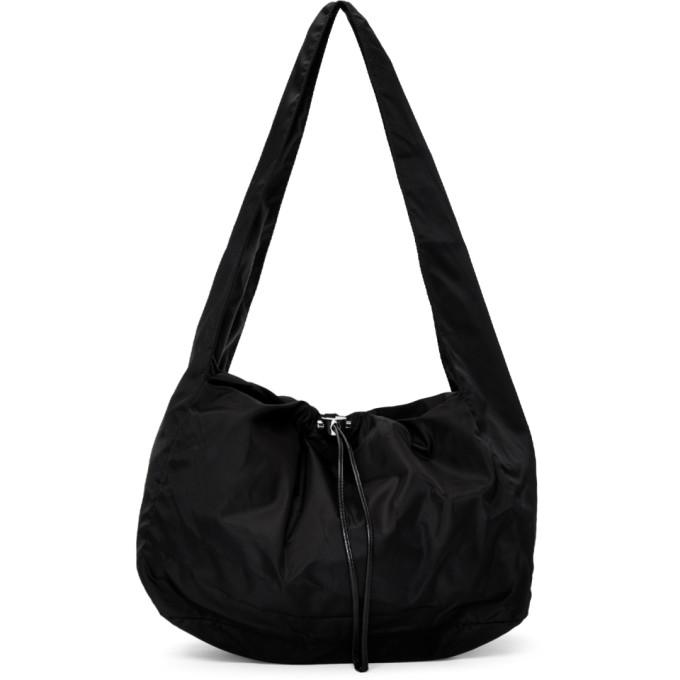 Kara Bags KARA BLACK NYLON CLOUD BAG