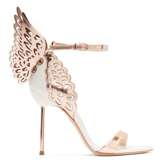Sophia Webster White Evangeline Sandals