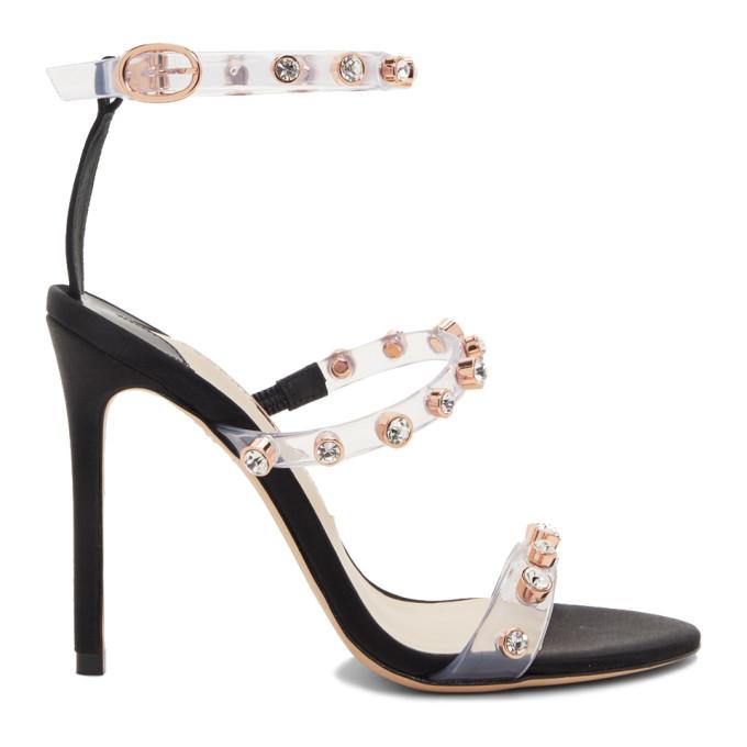 Sophia Webster Black Rosalind Sandal