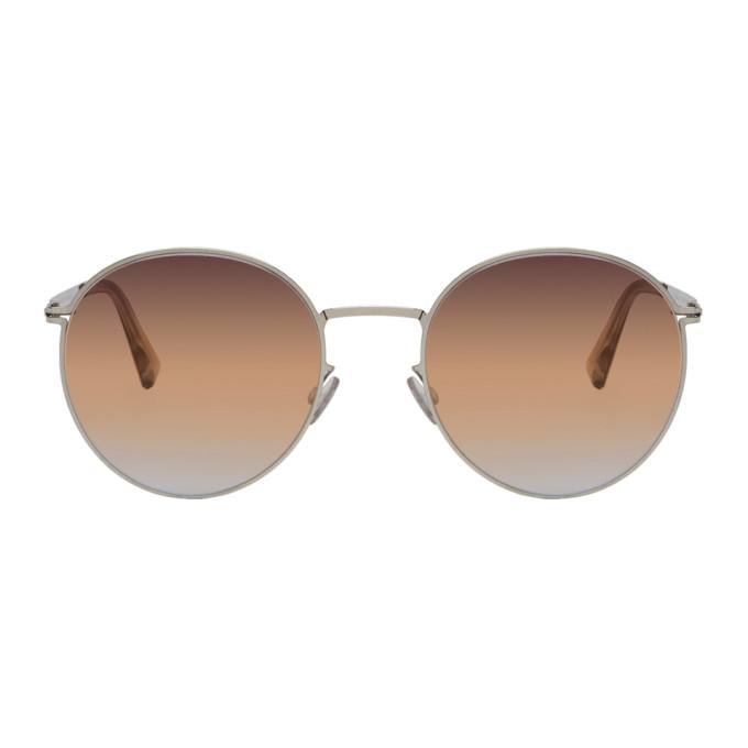 Mykita Silver & Brown Studio7.4 Sunglasses