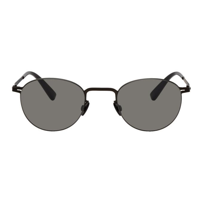 Mykita Black Rin Less Rim Sunglasses