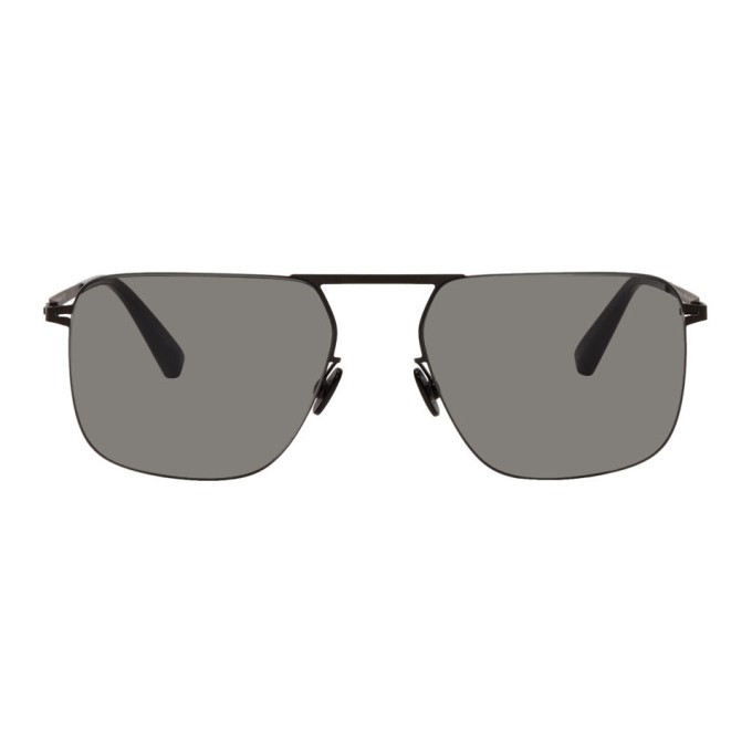 Mykita Black Masao Lessrim Sunglasses