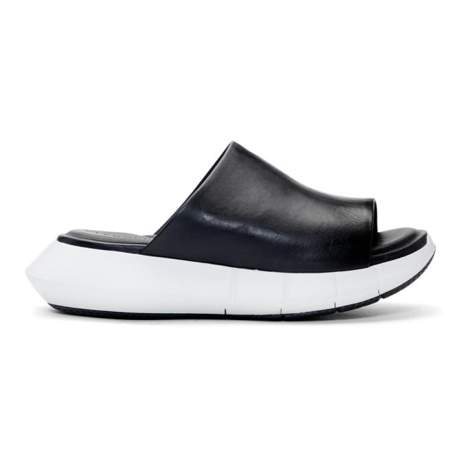 Image of Clergerie Black Acid Sandals
