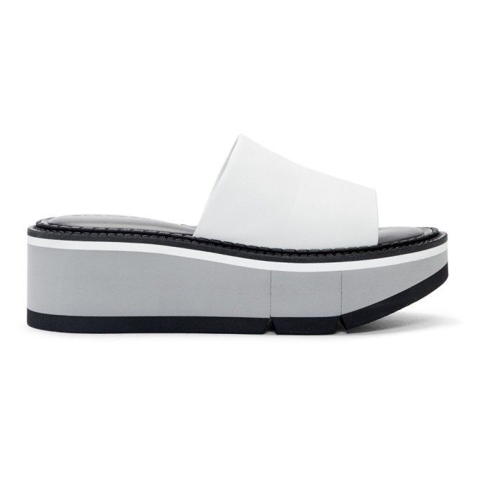 Image of Clergerie White Affect Sandals
